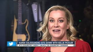 Kelli Pickler Visits Milwaukee - Video