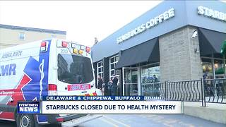 Downtown Starbucks closed after employees report feeling sick - Video