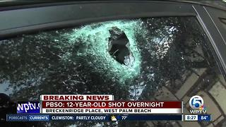 12-year-old shot in suburban West Palm Beach - Video