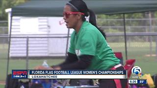 Florida Flag Football League Women's Championships - Video