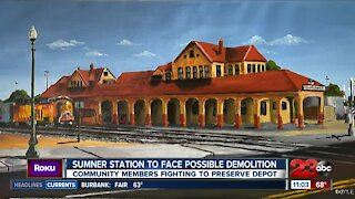Community members rally to save Sumner Station