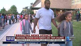 Perry Hall parents anxiously line up to pick up children after alert - Video