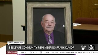 Bellevue community shares legacy of Frank Kumor