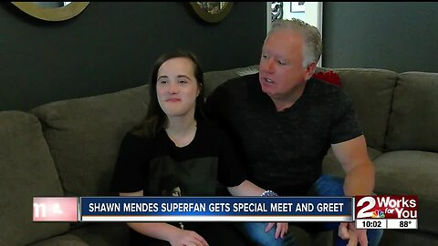 Shawn Menes Superfan Gets Special Meet and Greet
