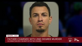 Father charged after kids die in hot vehicle