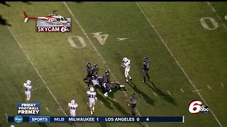 HIGHLIGHTS: Lawrence Central 24, Bishop Chatard 16 - Video