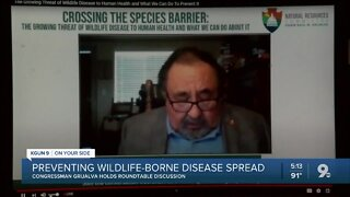 Congressman Raul Grijalva holds roundtable discussion to protect wildlife from diseases