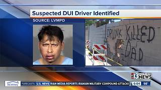 UPDATE: Police identify suspected DUI driver who hit bicyclist - Video
