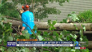 Tornado reportedly touched down in Columbia, according to National Weather Service