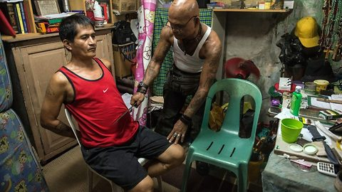 Inside Filipino 'cult' that hacks members with machetes to give them 'bulletproof powers' – without drawing blood