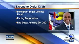 Denver mayor drafts executive order to push back on Trump immigration policy - Video
