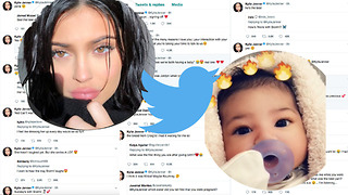 Kylie Jenner's Twitter EXPLODES With Details About Stormi Webster - Video