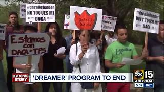 Uncertainty and worry as Dreamers wait on DACA announcement - Video