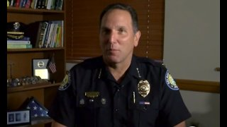 Retiring Delray Beach Police Chief talks about transition period