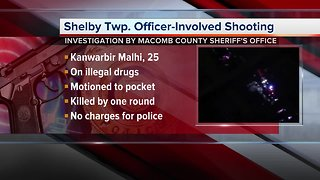 No charges in officer-involved shooting that killed man in Shelby Township