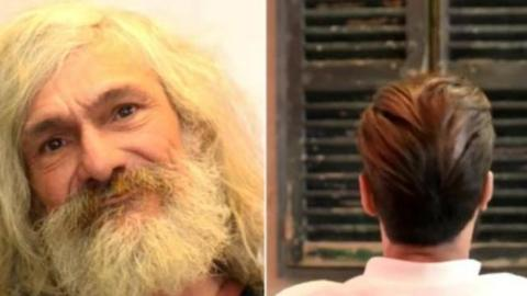 Watch This Homeless Man Receive an Awe-Inspiring Makeover