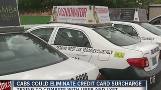 Las Vegas taxis consider dropping $3 credit card surcharge - Video
