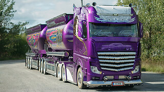 Mercedes Actros 2663 - The 75ft Lowrider Truck | RIDICULOUS RIDES
