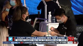 Kern County officials address new tier system