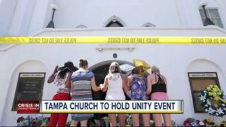 Tampa church plans unity prayer service in response to the hatred and violence in Charlottesville - Video
