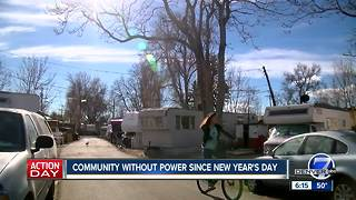 Lakewood mobile home residents upset after fire knocks them off grid for days - Video