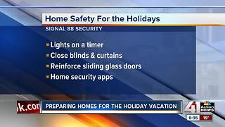Preparing your home for holiday vacation - Video