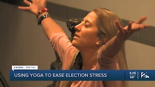 Using yoga to ease election stress