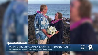 'Happily ever after' is taken from Oro Valley couple by COVID-19