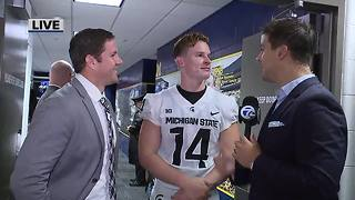 Brian Lewerke on Michigan State's win over Michigan - Video