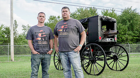 World's First Jet-Powered Amish Buggy