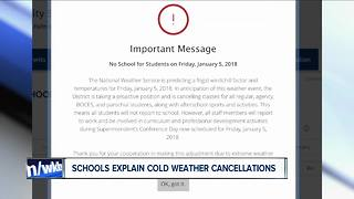 Districts explain Friday closure - Video