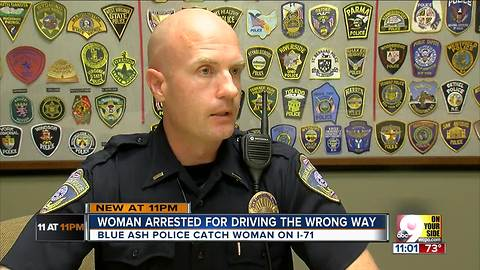 PD: Drunk woman drove the wrong way down I-71 for five miles