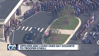 Funeral for fallen MSP Trooper Timothy O'Neill held Tuesday - Video