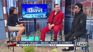 "'That's Vegas"" music, magic and comedy show"