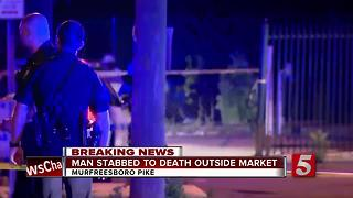 Man Found Stabbed To Death Near South Nashville Business - Video
