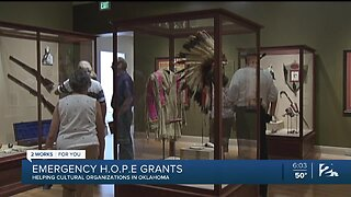 Emergency H.O.P.E Grants to Help Cultural Organizations in Oklahoma