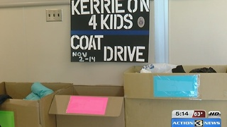 Strength Behind the Blue  Kerrie on coat drive - Video
