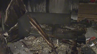 Space heater fire leaves Cleveland family homeless for Thanksgiving - Video