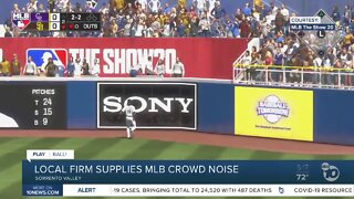 Local firm to supply MLB crowd noise during season