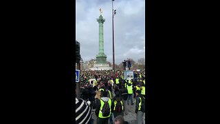 Yellow Vest Protests Continue in Paris