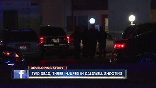 Two people dead after shooting in Caldwell