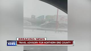 People stuck on the 90 talk with 7 Eyewitness News - Video