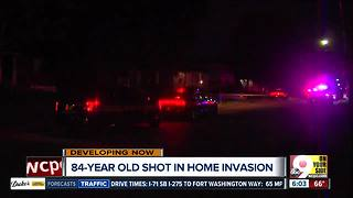 Police looking for suspects accused of shooting elderly man - Video