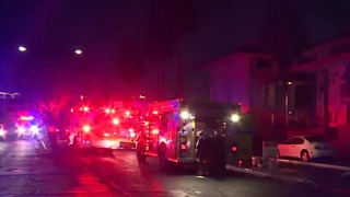Apartment fire leaves family of 4 without a home - Video