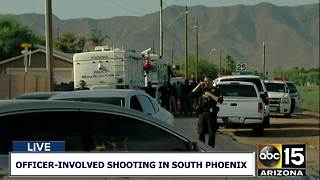 Officer-involved shooting in south Phoenix - Video