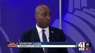 Mayor Lucas talks COVID-19, election, homicides
