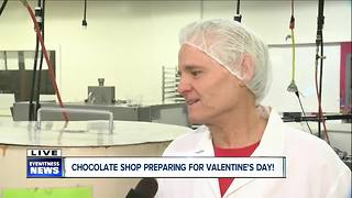 A family environment at Landies Candies - Video
