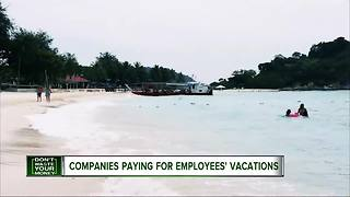 Companies paying from employees' vacations - Video