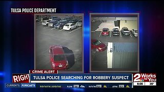 Tulsa police searching for robbery suspect