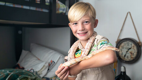 CRIKEY! 10-Year-Old Reptile Fan Bitten By Pet Snake | BEAST BUDDIES